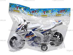 Мотоцикл детский инерционный, 1029-3