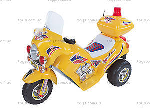 Мотоцикл для детей, желтый, 03010331 ЖEЛ