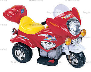 Мотоцикл для детей с электродвигателем, M-009