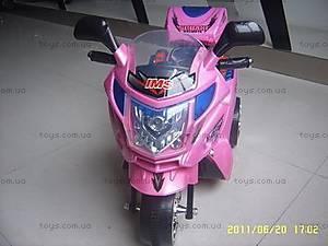 Мотоцикл для девочек, розовый, C051РОЗ