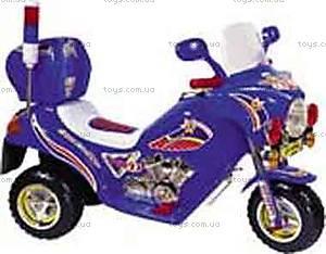 Мотоцикл-электромобиль для детей, синий, 03010328 СИН