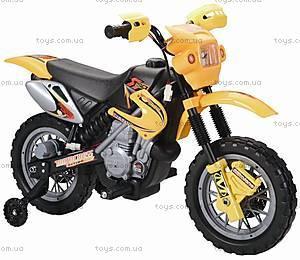 Мотоцикл-электромобиль, желтый, YJ137 YELLOW