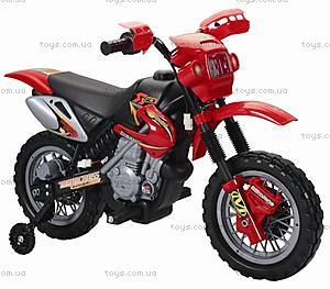 Мотоцикл-электромобиль, красный, YJ137 RED