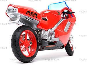 Мотоцикл HONDA NR, масштаб 1:18, 19664PW, фото