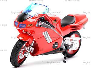 Мотоцикл HONDA NR, масштаб 1:18, 19664PW