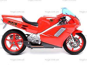 Мотоцикл HONDA NR, масштаб 1:18, 19664PW, отзывы