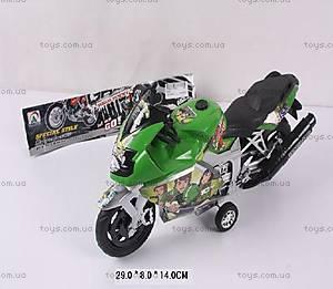 Мотоцикл инерционный BEN 10, 909-4
