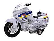 Мотоцикл инерционный, детский, HR688-1