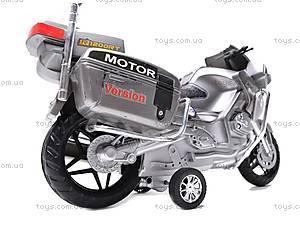 Мотоцикл инерционный, игрушечный, HR698, цена