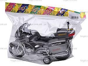 Мотоцикл инерционный, игрушечный, HR698, игрушки