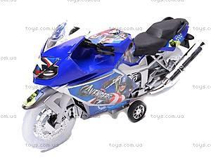 Мотоцикл инерционный музыкальный, 909-13/909-15, фото