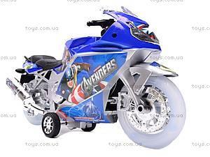 Мотоцикл инерционный музыкальный, 909-13/909-15