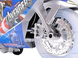 Мотоцикл инерционный музыкальный, 909-13/909-15, игрушки
