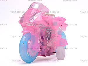 Мотоцикл инерционный, музыкальный, 268-6C, купить