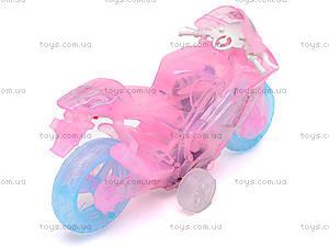 Мотоцикл инерционный, музыкальный, 268-6C, фото