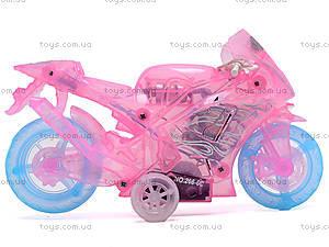 Мотоцикл инерционный, музыкальный, 268-6C