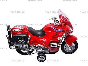 Мотоцикл инерционный с музыкой, CZ003B, купить