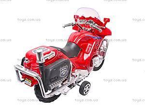 Мотоцикл инерционный с музыкой, CZ003B, фото
