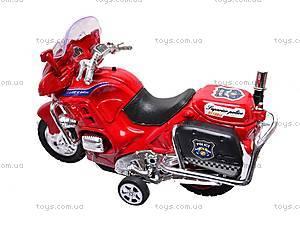 Мотоцикл инерционный с музыкой, CZ003B, отзывы