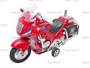 Мотоцикл инерционный с музыкой, CZ003B
