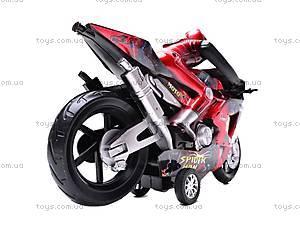 Мотоцикл инерционный Spiderman, HR686-6, купить