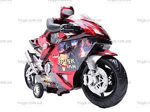 Мотоцикл инерционный Spiderman, HR686-6