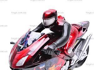 Мотоцикл инерционный Spiderman, HR686-6, отзывы