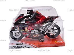 Мотоцикл инерционный Spiderman, HR686-6, игрушки