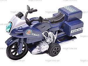 Мотоцикл инерционный SWAT, 999-065E, фото