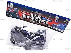 Мотоцикл инерционный SWAT, 999-065E, цена