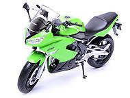 Мотоцикл KAWASAKI 2009  NINJA 650R, масштаб 1:10 , 62803W, фото