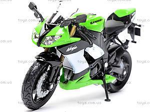 Мотоцикл KAWASAKI 2009  NINJA ZX-10R, масштаб 1:18 , 12809PW, фото