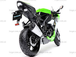 Мотоцикл KAWASAKI 2009  NINJA ZX-10R, масштаб 1:18 , 12809PW, отзывы