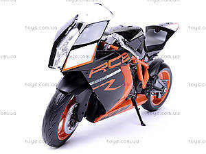 Мотоцикл KTM 1190 RC8R, масштаб 1:10, 62806R-W