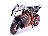 Мотоцикл KTM 1190 RC8R, масштаб 1:10, 62806R-W, фото