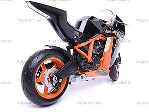 Мотоцикл KTM 1190 RC8R, масштаб 1:10, 62806R-W, купить
