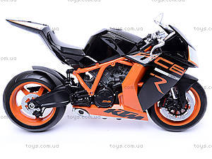 Мотоцикл KTM 1190 RC8R, масштаб 1:10, 62806R-W, отзывы