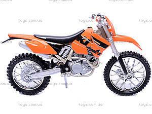 Мотоцикл KTM, масштаб 1:18, 19660W-12A, купить