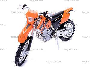 Мотоцикл KTM, масштаб 1:18, 19660W-12A, фото