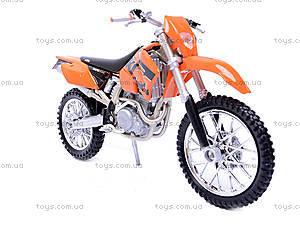 Мотоцикл KTM, масштаб 1:18, 19660W-12A, отзывы