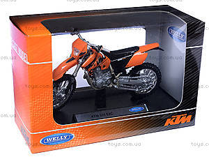 Мотоцикл KTM, масштаб 1:18, 19660W-12A, цена