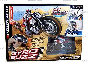 Мотоцикл радиоуправляемый Gyro Buzz, S82414, фото