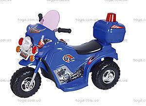 Мотоцикл с электродвигателем для детей, M-011