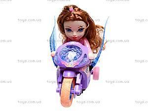 Мотоцикл с куклой, 8007, фото