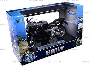 Мотоцикл с масштабом 1:18, 19660W-12B, фото