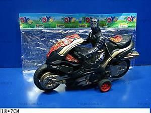 Мотоцикл «Спайдермен», инерционный, 2389B