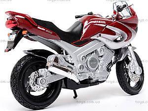 Мотоцикл YAMAHA 2001 TDM850, масштаб 1:18, 12155PW, фото
