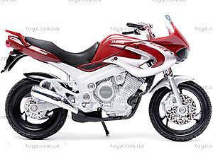 Мотоцикл YAMAHA 2001 TDM850, масштаб 1:18, 12155PW, отзывы