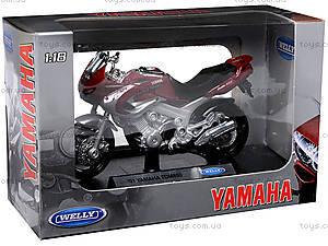 Мотоцикл YAMAHA 2001 TDM850, масштаб 1:18, 12155PW, цена