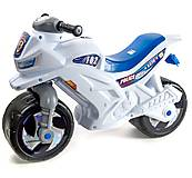 Мотоцикл 2-х колесный белый, 501_Б